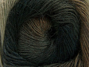 Fiber Content 60% Premium Acrylic, 20% Alpaca, 20% Wool, Brand ICE, Brown Shades, Anthracite, Yarn Thickness 2 Fine  Sport, Baby, fnt2-58397