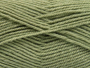 Fiber Content 50% Wool, 50% Acrylic, Light Khaki, Brand ICE, Yarn Thickness 4 Medium  Worsted, Afghan, Aran, fnt2-58452