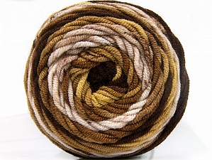 Fiber Content 100% Acrylic, Brand ICE, Gold, Brown Shades, fnt2-58456