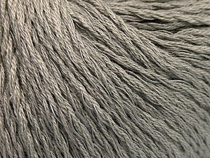 Fiber Content 40% Bamboo, 35% Cotton, 25% Linen, Brand ICE, Grey, fnt2-58466