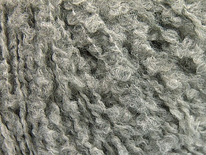 Fiber Content 8% Nylon, 65% Acrylic, 27% Wool, Light Grey, Brand ICE, fnt2-58483