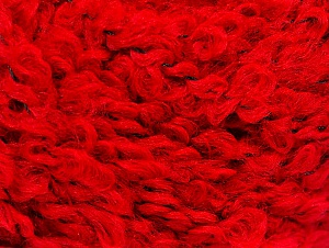 Fiber Content 9% Wool, 80% Acrylic, 11% Polyamide, Red, Brand ICE, Yarn Thickness 5 Bulky  Chunky, Craft, Rug, fnt2-58503