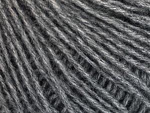 Fiber Content 50% Acrylic, 50% Wool, Brand ICE, Grey, Yarn Thickness 3 Light  DK, Light, Worsted, fnt2-58525