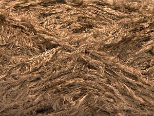 Fiber indhold 95% Viskose, 5% Polyamid, Brand ICE, Brown, Yarn Thickness 3 Light  DK, Light, Worsted, fnt2-58540