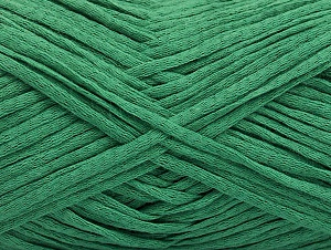 Fiber Content 74% Cotton, 26% Silk, Brand ICE, Green, fnt2-58545