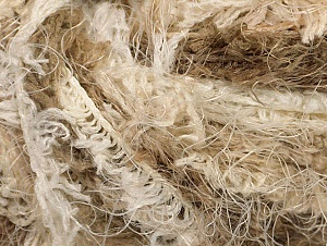 Fiber Content 100% Polyamide, Brand ICE, Cream, Brown Shades, Yarn Thickness 6 SuperBulky  Bulky, Roving, fnt2-58555