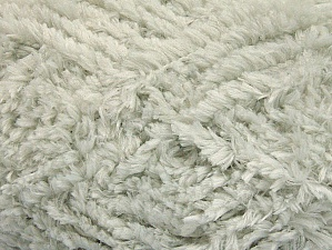 Fiber Content 100% Micro Fiber, Light Grey, Brand ICE, Yarn Thickness 6 SuperBulky  Bulky, Roving, fnt2-58812