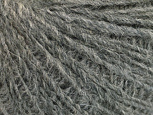 Fiber Content 50% Wool, 50% Acrylic, Brand ICE, Grey, Yarn Thickness 2 Fine  Sport, Baby, fnt2-58830
