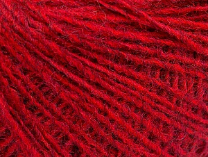 Fiber Content 50% Wool, 50% Acrylic, Red Melange, Brand ICE, Yarn Thickness 2 Fine  Sport, Baby, fnt2-58833