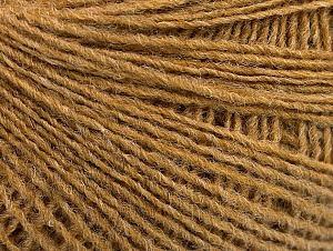 Fiber Content 50% Wool, 50% Acrylic, Light Brown, Brand ICE, fnt2-58847