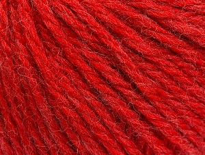 Fiber Content 60% Acrylic, 40% Wool, Red, Brand ICE, fnt2-58990