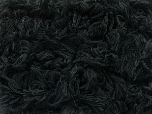 Fiber Content 100% Micro Fiber, Brand ICE, Black, Yarn Thickness 6 SuperBulky  Bulky, Roving, fnt2-59059