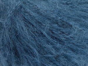 Fiber Content 70% Acrylic, 20% Mohair, 10% Wool, Brand ICE, Blue, fnt2-59087