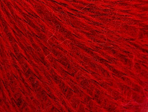 Fiber Content 55% Acrylic, 5% Polyester, 15% Alpaca, 15% Wool, 10% Viscose, Red, Brand ICE, fnt2-59212