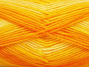 Fiber Content 100% Acrylic, Brand ICE, Gold Shades, Cream, Yarn Thickness 3 Light  DK, Light, Worsted, fnt2-59332