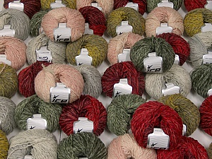 Sale Winter This mixed lot includes a total of 2000 gr (70.5 oz.) yarn. There is no standard for ball weight. Also disregard any information on the labels. You will get what you see in the photo. Fiber Content 45% Wool, 45% Acrylic, 10% Polyamide, Brand ICE, fnt2-59646