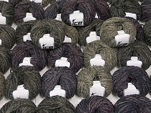 Sale Winter This mixed lot includes a total of 2000 gr (70.5 oz.) yarn. There is no standard for ball weight. Also disregard any information on the labels. You will get what you see in the photo. Fiber Content 45% Acrylic, 45% Wool, 10% Polyamide, Brand ICE, fnt2-59655