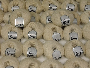 Ecru Winter Yarns This mixed lot includes a total of 2000 gr (70.5 oz.) yarn. There is no standard for fiber content and weight. Also disregard any information on the labels. You will get what you see in the photo. Brand ICE, fnt2-59671