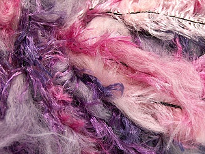 Fiber Content 100% Polyamide, Purple, Pink Shades, Lilac, Brand ICE, Yarn Thickness 6 SuperBulky  Bulky, Roving, fnt2-59700