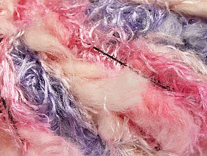 Fiber Content 100% Polyamide, Pink Shades, Lilac Shades, Brand ICE, Yarn Thickness 6 SuperBulky  Bulky, Roving, fnt2-59714