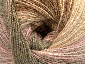 Fiber Content 60% Acrylic, 20% Angora, 20% Wool, Pink, Brand ICE, Camel, Brown Shades, fnt2-59750