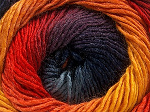 Fiber Content 50% Acrylic, 50% Wool, Yellow, Red, Orange, Brand ICE, Gold, Blue Shades, fnt2-59787