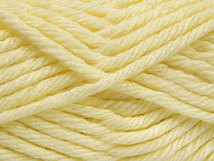 Fiber Content 100% Acrylic, Brand ICE, Cream, Yarn Thickness 6 SuperBulky  Bulky, Roving, fnt2-59792