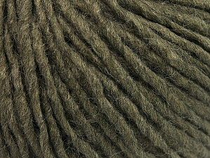 Fiber Content 50% Acrylic, 50% Wool, Khaki, Brand ICE, Yarn Thickness 4 Medium  Worsted, Afghan, Aran, fnt2-59808
