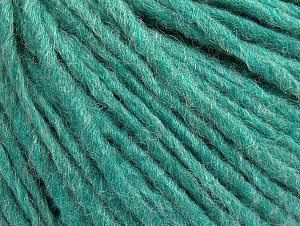Fiber Content 50% Acrylic, 50% Wool, Light Emerald Green, Brand ICE, Yarn Thickness 4 Medium  Worsted, Afghan, Aran, fnt2-59813