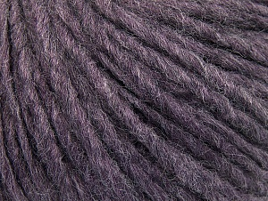 Fiber Content 50% Acrylic, 50% Wool, Lavender Melange, Brand ICE, Yarn Thickness 4 Medium  Worsted, Afghan, Aran, fnt2-59821