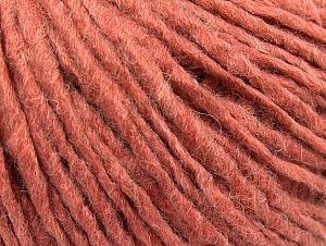 Fiber Content 50% Acrylic, 50% Wool, Salmon, Brand ICE, Yarn Thickness 4 Medium  Worsted, Afghan, Aran, fnt2-59826