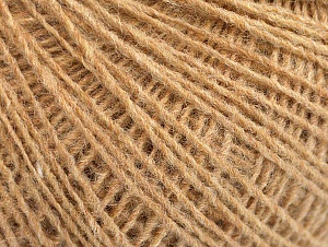 Fiber Content 50% Acrylic, 50% Wool, Brand ICE, Cafe Latte, Yarn Thickness 2 Fine  Sport, Baby, fnt2-60008