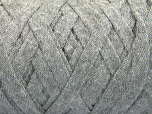 Fiber Content 100% Recycled Cotton, Brand ICE, Grey, Yarn Thickness 6 SuperBulky  Bulky, Roving, fnt2-60123