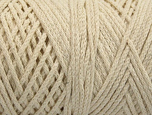 Fiber Content 100% Cotton, Brand ICE, Ecru, Yarn Thickness 4 Medium  Worsted, Afghan, Aran, fnt2-60144