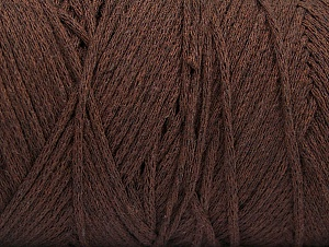 Fiber Content 100% Cotton, Brand ICE, Dark Brown, fnt2-60147