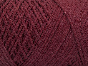 Fiber Content 100% Cotton, Brand ICE, Burgundy, fnt2-60151