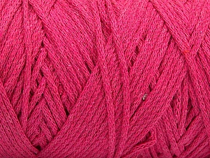 Fiber Content 100% Cotton, Brand ICE, Fuchsia, Yarn Thickness 4 Medium  Worsted, Afghan, Aran, fnt2-60157
