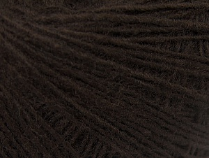 Fiber Content 50% Wool, 50% Acrylic, Brand ICE, Dark Brown, Yarn Thickness 2 Fine  Sport, Baby, fnt2-60180