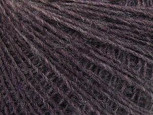 Fiber Content 50% Wool, 50% Acrylic, Brand ICE, Dark Lilac, Yarn Thickness 2 Fine  Sport, Baby, fnt2-60185