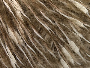 Fiber Content 30% Acrylic, 20% Cotton, 20% Mohair, 20% Wool, 10% Polyamide, White, Brand ICE, Camel, fnt2-60203