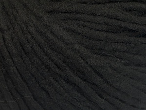 Fiber Content 100% Acrylic, Brand ICE, Black, Yarn Thickness 4 Medium  Worsted, Afghan, Aran, fnt2-60224
