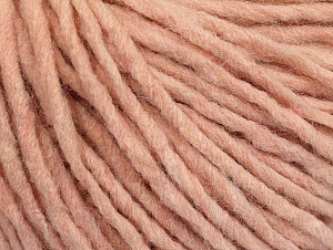 Fiber Content 100% Acrylic, Light Pink Melange, Brand ICE, Yarn Thickness 4 Medium  Worsted, Afghan, Aran, fnt2-60231
