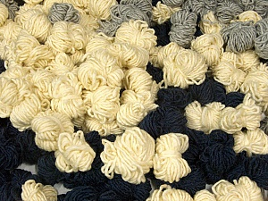 Peru Alpaca Leftover This mixed lot includes about 100 hanks of Peru Alpaca leftover yarns. There is no standard for fiber content and weight. The total weight is 2000 gr (70.5 oz.). Fiber Content 50% Merino Wool, 25% Alpaca, 25% Acrylic, Brand ICE, fnt2-60275