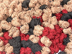 Peru Alpaca Leftover This mixed lot includes about 100 hanks of Peru Alpaca leftover yarns. There is no standard for fiber content and weight. The total weight is 2000 gr (70.5 oz.). Fiber Content 50% Merino Wool, 25% Alpaca, 25% Acrylic, Brand ICE, fnt2-60310
