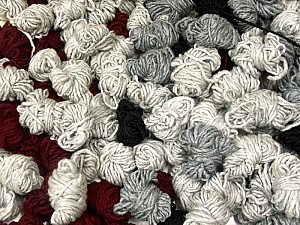 Peru Alpaca Leftover This mixed lot includes about 100 hanks of Peru Alpaca leftover yarns. There is no standard for fiber content and weight. The total weight is 2000 gr (70.5 oz.). Fiber Content 50% Merino Wool, 25% Acrylic, 25% Alpaca, Brand ICE, fnt2-60320