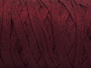 Fiber Content 100% Recycled Cotton, Maroon, Brand ICE, Yarn Thickness 6 SuperBulky  Bulky, Roving, fnt2-60400