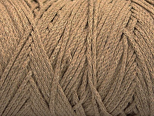 Fiber Content 100% Cotton, Brand ICE, Dark Beige, fnt2-60409