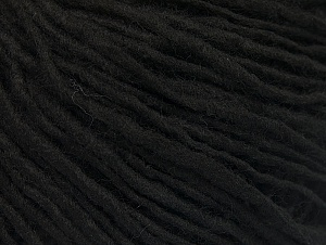 Fiber Content 100% Acrylic, Brand ICE, Black, Yarn Thickness 4 Medium  Worsted, Afghan, Aran, fnt2-60438