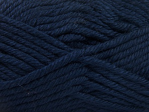 Fiber Content 100% Acrylic, Navy, Brand ICE, Yarn Thickness 6 SuperBulky  Bulky, Roving, fnt2-60449