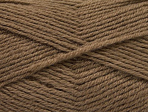 Fiber Content 50% Acrylic, 25% Alpaca, 25% Wool, Brand ICE, Dark Camel, Yarn Thickness 3 Light  DK, Light, Worsted, fnt2-60892